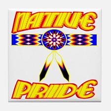 NATIVE PRIDE Tile Coaster