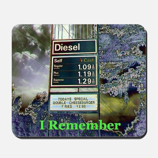 """""""I Remember"""" Mousepad"""