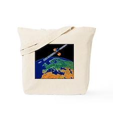 Communications satellite Tote Bag