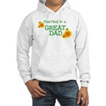 Married / Great Dad Hooded Sweatshirt