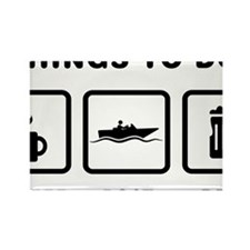 Boating-ABH1 Rectangle Magnet