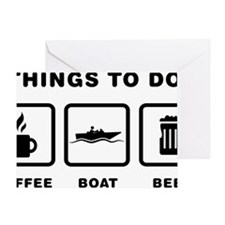 Boating-ABH1 Greeting Card