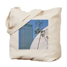 Communications dish, with Canary Wharf in Tote Bag