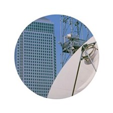 "Communications dish, with Canary Wharf 3.5"" Button"