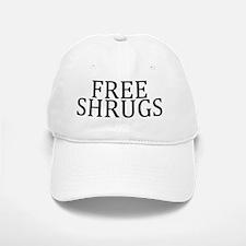 Free Shrugs Baseball Baseball Cap