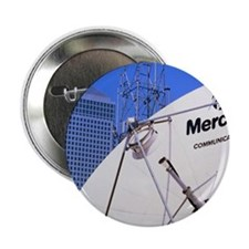 """Communications dish, with Canary Whar 2.25"""" Button"""