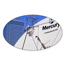Communications dish, with Canary Wh Decal