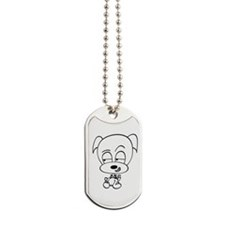 Sneaky Dog Dog Tags