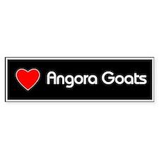 Love Angora Goats Bumper Bumper Sticker