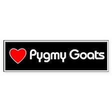 Love Pygmy Goats Bumper Bumper Sticker