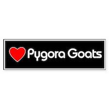 Love Pygora Goats Bumper Bumper Sticker