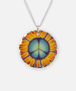 Peace Flower Necklace