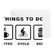 Cycling-ABH1 Greeting Card