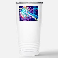 Computer artwork of ATL Stainless Steel Travel Mug