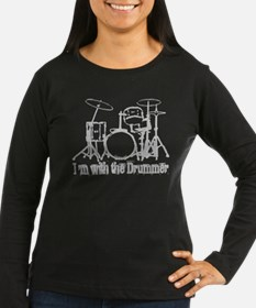 I'M WITH THE DRUMMER #3 T-Shirt