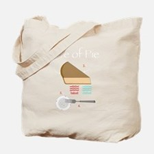 Life of Pie Main Tote Bag