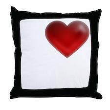 I Heart Madagascar Throw Pillow