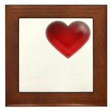 I Heart Madagascar Framed Tile