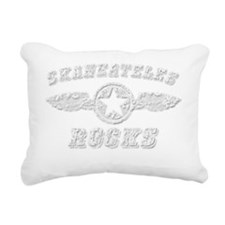 SKANEATELES ROCKS Rectangular Canvas Pillow