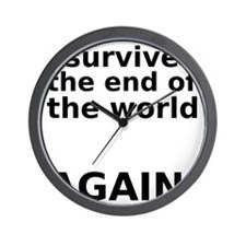I survived . . . AGAIN! Wall Clock