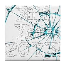 Eff You 2013! Tile Coaster