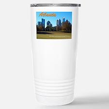Atlanta Skyline Stainless Steel Travel Mug
