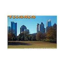 Atlanta Skyline Rectangle Magnet