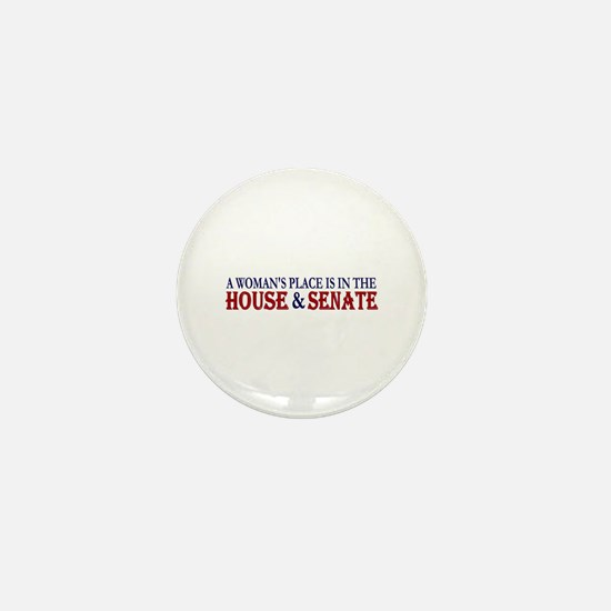 Woman's Place Mini Button