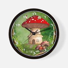 dl_wooden  Wall Clock