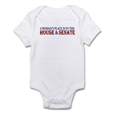 Woman's Place Onesie