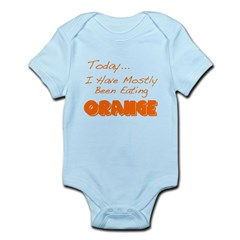 The Food Colored Infant Bodysuit