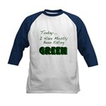 The Food Colored Kids Baseball Jersey
