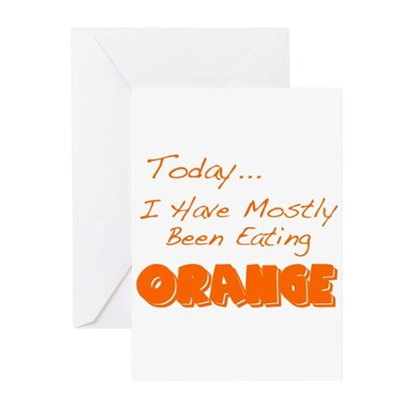 The Food Colored Greeting Cards (Pk of 10)