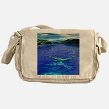 Computer illustration of the Loch Ne Messenger Bag