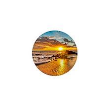 Sunrise Beach Mini Button