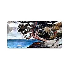 Winslow Homer - North Road, Aluminum License Plate