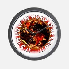 End of the World Wall Clock