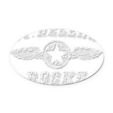 ST. HELENA ROCKS Oval Car Magnet