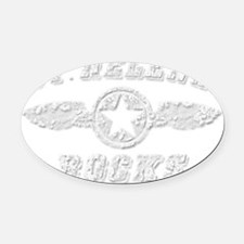 ST. HELENA ROCKS Oval Car Magnet
