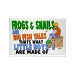 Frogs & Snails Rectangle Magnet