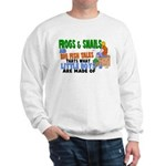 Frogs & Snails Sweatshirt