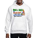 Frogs & Snails Hooded Sweatshirt