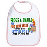 Frogs & Snails Bib