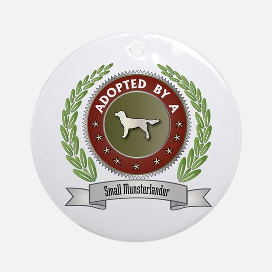 Moonster Adopted Ornament (Round)