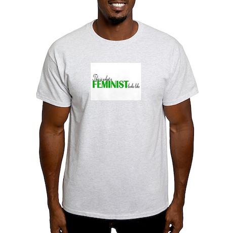 Feminist Looks Like Light T-Shirt
