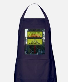 WICKED WOK - CHINESE RESTAURANT SIGN Apron (dark)