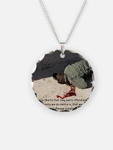 Fell on Afghan boy murder Necklace