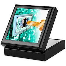 Computer security Keepsake Box
