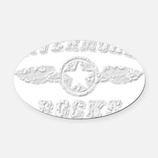 LIVERMORE ROCKS Oval Car Magnet
