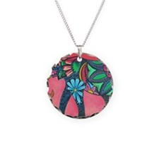 Psychedelic Elephant Necklace